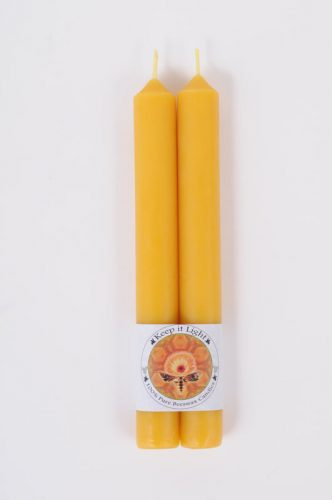 100% Beeswax Colonial Candles